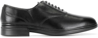 Bally Pinked-Edge Oxford Shoes