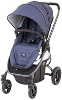 Valco Baby Snap Ultra Lightweight Reversible Stroller (Blue Denim)