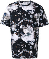 MSGM winter flowers print T-shirt - men - Cotton - S