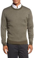 Bobby Jones Men's Bird's Eye Merino Wool Sweater