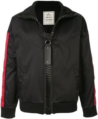 Maison Mihara Yasuhiro Side Stripe Bomber Jacket