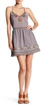 Tularosa Bloom Embroidered Slip Dress