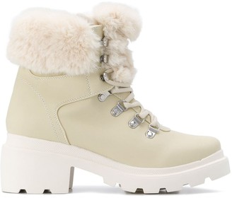 KENDALL + KYLIE Kendall+Kylie Roan faux-fur boots