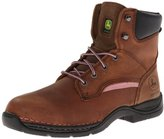 """John Deere Women's JD3612 6"""" Steel-Toe Hiker Boot"""