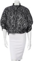 Balenciaga Brocade Collarless Jacket w/ Tags