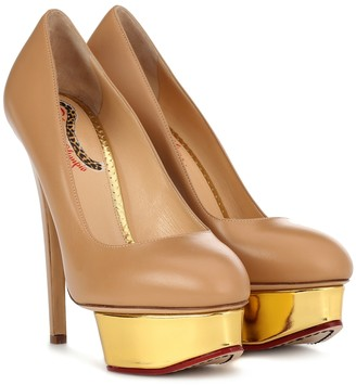 Charlotte Olympia Dolly plateau pumps