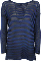Avant Toi Ribbed Knit Sweater