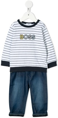 Boss Kidswear T-shirt and jeans set