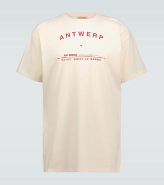 Raf Simons Antwerp Tour short-sleeved T-shirt