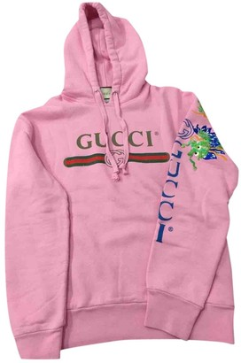 Gucci Pink Cotton Knitwear & Sweatshirts