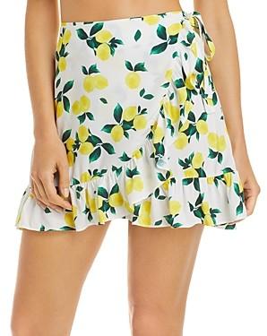 Aqua Swim Ruffled Mini Skirt Cover Up - 100% Exclusive
