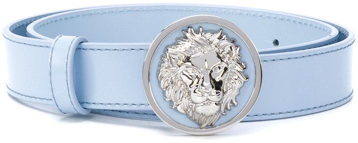 Versus lion buckle belt