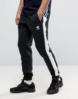 Adidas Originals Adidas Orignals Berlin Pack Eqt Joggers In Black Bk7250