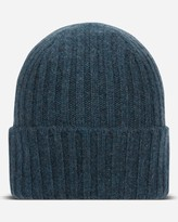 N.Peal Chunky Ribbed Cashmere Hat