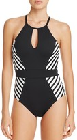 LaBlanca La Blanca Mime High Neck One Piece Swimsuit