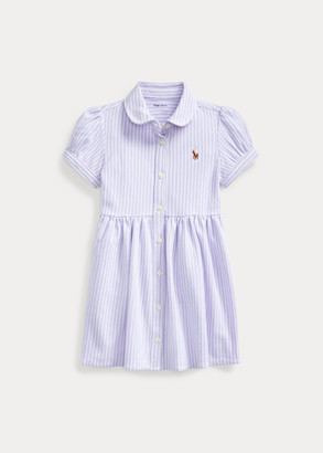 Ralph Lauren Striped Oxford Dress & Bloomer