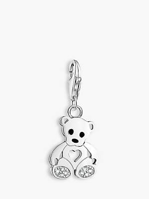 Thomas Sabo Charm Club Teddy Bear Charm, Silver