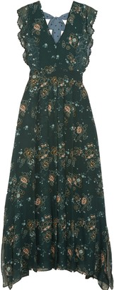 See by Chloe Printed Georgette Maxi Dress