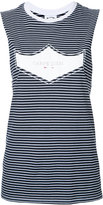 The Upside striped tank top - women - Cotton - XXS
