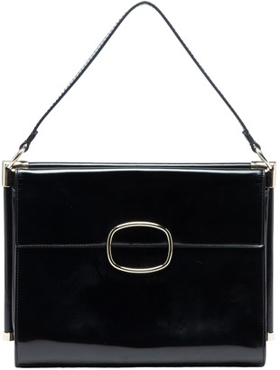 Roger Vivier Black Patent leather Handbags