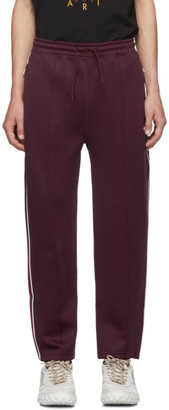 Kenzo Burgundy Jogging Lounge Pants