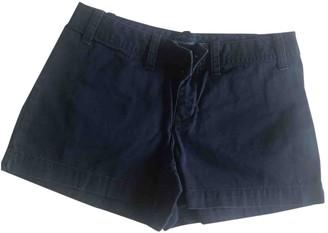 Ralph Lauren Blue Cotton Shorts for Women