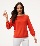 LOFT Petite Sweatshirt Sweater