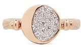 Pamela Love 'Reversible Moon Phase' diamond 18k rose gold ring