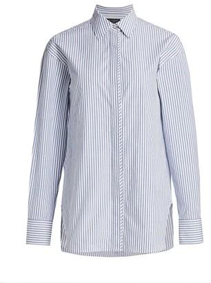 Rag & Bone Alina Double Pinstripe Shirt