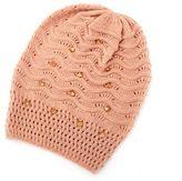 Charlotte Russe Spiked Knit Boyfriend Beanie