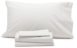 Coyuchi Organic Cotton Percale King Pillowcase, Pair