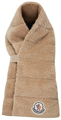 Moncler Padded Faux Fur Scarf