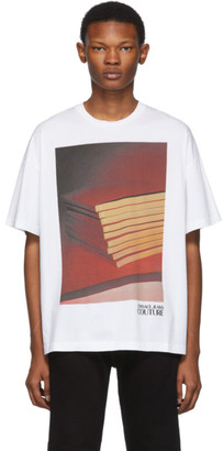Versace White Pop Couture T-Shirt