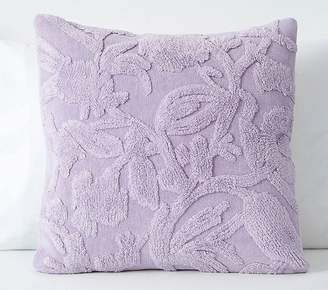 Pottery Barn Kids Stone Wash Chenille Sham, 20x20, Lavender
