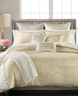 Martha Stewart Collection Velvet Paisley Jacquard 14-Pc. California King Comforter Set, Created for Macy's Bedding