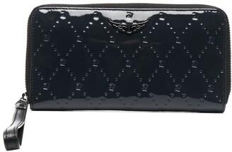Zadig & Voltaire Compagnon ZV embossed wallet