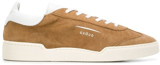 Ghoud Round Toe Suede-Panel Sneakers