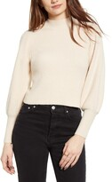 Lulus Eugenie Balloon Sleeve Sweater