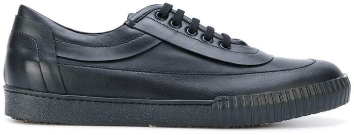 Marni ridged sole low-top sneakers