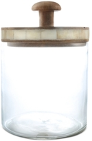 Thirstystone Small Glass Jar with Wood Lid