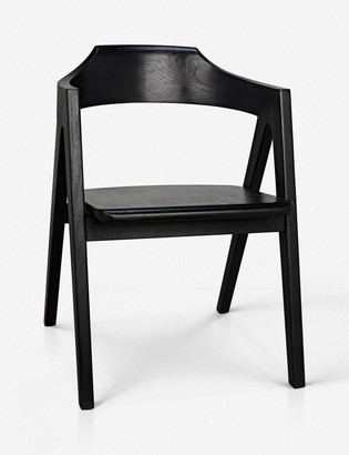 Lulu And GeorgiaLulu & Georgia August Dining Chair, Charcoal Black