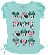"Disney Minnie Mouse Little Girls' ""Many Faces of Minnie"" Top"