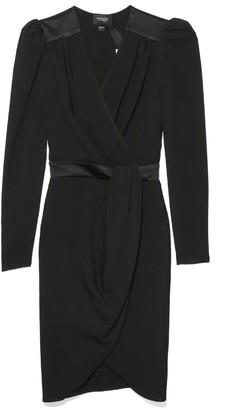 Giambattista Valli Wrap Front Dress in Black