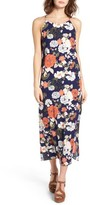 Soprano Women's Floral Print Maxi Dress