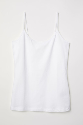 H&M Basic strappy top