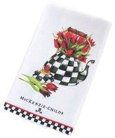 Mackenzie Childs MacKenzie-Childs Tulip Tea Kettle Dish Towel