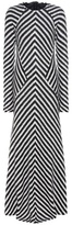 Haider Ackermann Striped Mohair-blend Sweater Dress