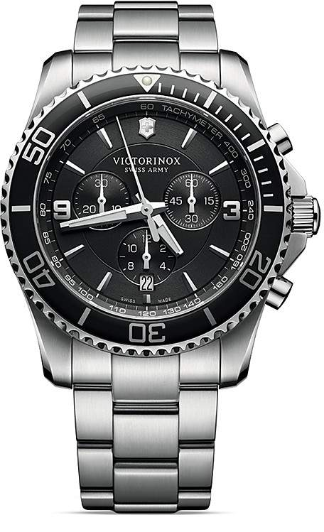 Victorinox Maverick Chronograph Watch, 43mm