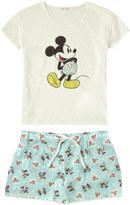 Cath Kidston Mickey Hearts Minnie Tee & Shorts Set