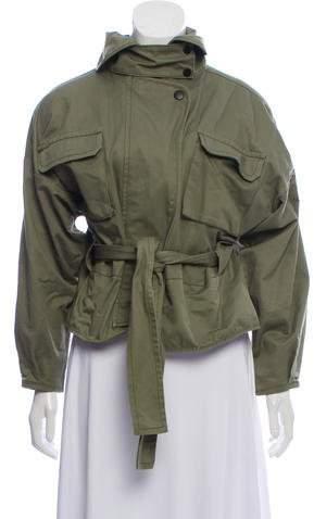 Marissa Webb Cropped Utility Jacket